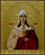 Рукописная икона Татьяна (Татиана) Римская 4