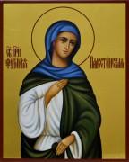 Рукописная икона Фотиния Палестинская 2