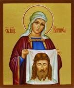 Рукописная икона Виринея Вероника