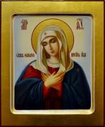 Рукописная икона Умиление масло 5