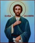 Рукописная икона Симеон Верхотурский масло