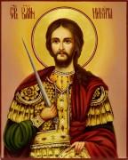 Рукописная икона Никита Готфский масло