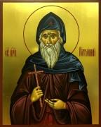 Рукописная икона Патапий Фивский