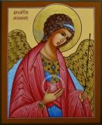 Рукописная икона Архангел Михаил 11
