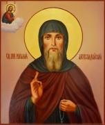 Рукописная икона Виталий Александрийский масло