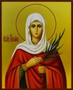 Рукописная икона Татьяна (Татиана) Римская 5