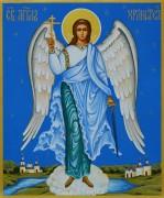 Рукописная икона Ангел Хранитель 28