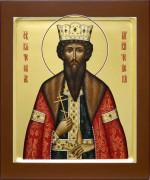 Рукописная икона Вячеслав Чешский 2