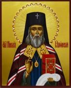 Рукописная икона Николай Японский