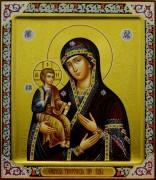 Рукописная икона Троеручица 7