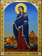 Рукописная икона Пюхтицкая 2