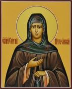 Рукописная икона Сергий Шухтомский 2