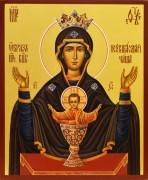 Рукописная икона Неупиваемая Чаша 6 (Серпуховской Владычный монастырь)