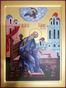 Рукописная икона Иоанн Богослов 3