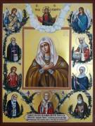 Рукописная семейная икона 73