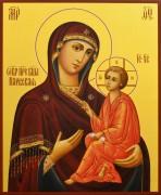 Рукописная икона Божией Матери Нарвская