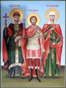 Рукописная семейная икона 75