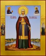 Рукописная икона Мария Вифанская 3