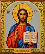 Рукописная икона Спас Вседержитель 10 (Размер 17*21 см)