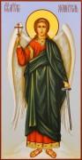 Рукописная икона Ангел Хранитель 32 (Размер 13*25 см)