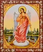 Рукописная икона Ангел Хранитель масло 32 (Размер 17*21 см)