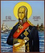Рукописная икона Федор (Феодор) Ушаков 4