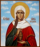 Рукописная икона Мария Магдалина 5