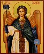 Рукописная икона Архангел Гавриил 3
