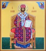 Рукописная икона Спас Великий Архиерей