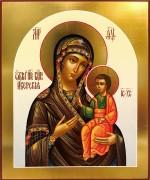 Рукописная Иверская икона 10 (Размер 17*21 см)