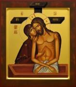 Рукописная икона Не Рыдай Мене Мати 2