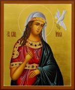 Рукописная икона Ирина великомученица