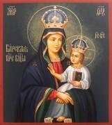 Рукописная икона Барская Божия Матерь