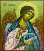 Икона Ангел с Душой 39 (Размер 21*25 см)