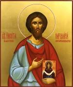 Рукописная икона Никита Хартуларий Константинопольский