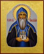 Рукописная икона Олег Брянский 4 (Размер 17*21 см)