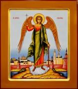 Рукописная икона Ангел Хранитель 13