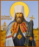 Рукописная икона Вениамин Петроградский