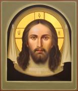 Рукописная икона Спас Нерукотворный 13 масло