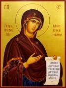 Рукописная икона Миропросительница