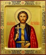 Рукописная икона Игорь Черниговский 5 (Размер 17*21 см)