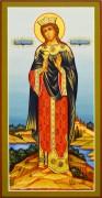 Рукописная икона Варвара 6 (Размер 13*25 см)