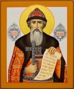 Рукописная икона Владимир Равноап. 7 (Размер 17*21 см)