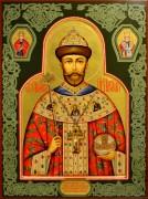 Рукописная икона Николай Второй (список мироточивого Образа)