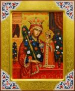 Рукописная икона Неувядаемый Цвет 34