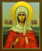 Рукописная икона Наталия Никомидийская 6