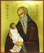 Рукописная икона Стилиан Пафлагонянин