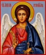 Рукописная икона Ангел-Хранитель 52