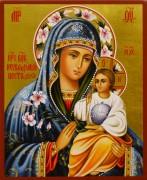 Рукописная икона Неувядаемый Цвет 33 (Размер 13*16 см)