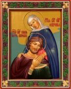 Резная икона Петр и Феврония 26